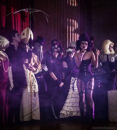 Guests at Dances of Vice PhantasmaGOREY Edward Gorey Halloween Ball 2012, Photo Mark Shelby Perry