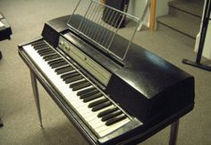 """My first """"portable"""" keyboard was a Wurlitzer Model electronic piano purchased in Sold mine years ago but will always be fond of it. Electric Piano, Music Crafts, Cover Songs, Vintage Guitars, Listening To Music, Musical Instruments, Keyboard, Electronics, 40 Years"""