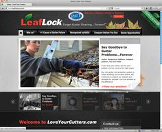 New website for a great gutter company! http://www.loveyourgutters.com/
