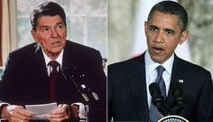 If President Obama Were White and Republican, They'd Worship Him Like They Do Ronald Reagan