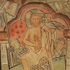 Den Seirende Kristus av Johs. Rian Christ Victorious by Johs. Rian