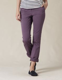 Lavender chinos. Downright subversive.
