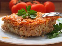 Мясная запеканка с овощами - пошаговый кулинарный фото-рецепт