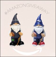 Enter to win an NFL themed garden gnome