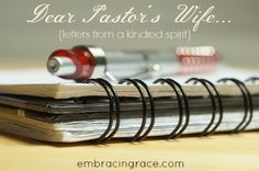 Dear Pastor's Wife: Thoughts On Loving Difficult People » Embracing Grace