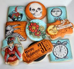 Arty McGoo: Amazing Halloween Cookies | Love this cookie artist!!