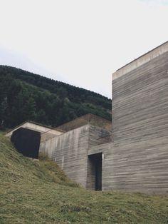 Therme Vals Vals, Switzerland Architect. Peter Zumthor