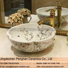 China lavar la cara <strong> </ strong baño> Fregadero de cerámica…