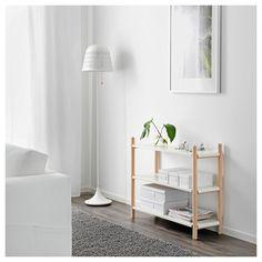IKEA - IKEA PS 2017, Bokhylla, Bokhyllans rena och enkla uttryck gör att du kan kombinera den med möbler i många olika stilar.En liten list på hyllans baksida förhindrar att dina saker ramlar bakom bokhyllan.3 fasta hyllplan ger ökad stabilitet.