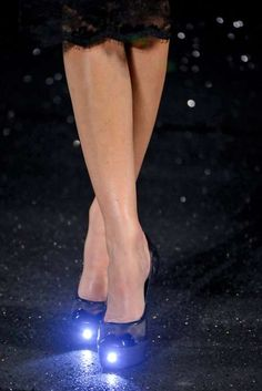 Chanel LED Shoes Light Up The Fall