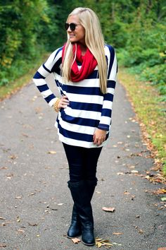 Striped Top - UOIONLINE.COM