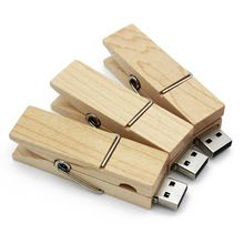 Logo Customize Wooden clip usb flash drive natural wood pendrives 4gb 8gb 32gb memory stick 16gb usb creativo 100% real capacity #usbdrives #thumbdrives #cheapusbdrives