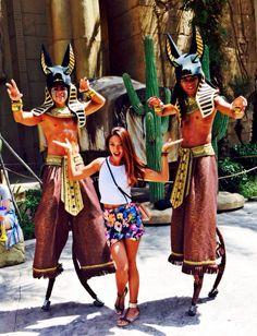 Theme park outfit : universal studios