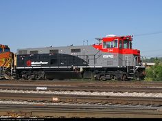 RailPictures.Net Photo: MPEX 244 Motive Power Industries MPI MP21B at Denver, Colorado by Dave Schaaf