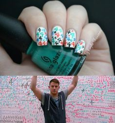 Nails by Kayla Shevonne: 31 Day Challenge - Day 23: Inspired by a Movie