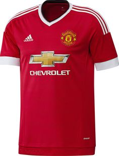 Manchester United Football Club Home Jersey 2015 to 2016 Childrens Large #adidas