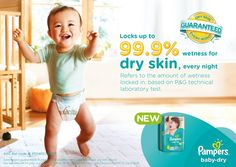 Join The New Pampers Baby Dry 99.9% Skin Dryness Challenge | Dear Kitty Kittie Kath- Beauty, Fashion, Lifestyle, and Mommy Blog