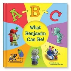 ABC What I Can Be! Personalized Children's Book | I See Me!