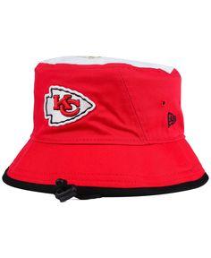 7bfab9b09 New Era Kansas City Chiefs Traveler Bucket Hat Hat Men
