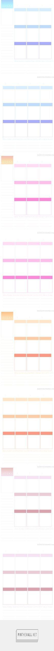 Planner Wish List Free printable, Planners and Free - printable loose leaf