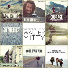 The Secret Life of Walter Mitty. My new favorite movie love. :)