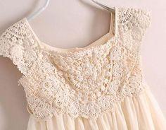 Crochet Lace Vintage Retro Cap Sleeve Sweetheart Chiffon Girl Toddler Dress 3-6y in Clothing, Shoes & Accessories,Baby & Toddler Clothing,Girls' Clothing (Newborn-5T) | eBay