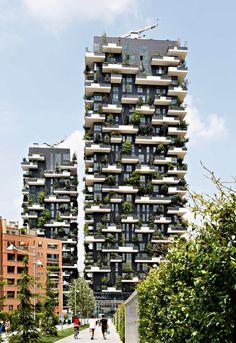 Internationaler Hochhauspreis 2014, Kirsten Bucher, Mailand, Stefano Boeri, Wohnhochhaus