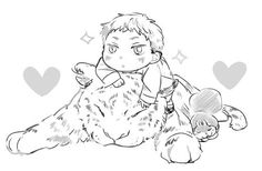 Akatsuki no Yona / Yona of the dawn anime and manga    shin ah