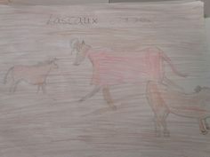 PALEOLITHIC CAVE PAINTINGS FROM LASCAUX, FRANCE