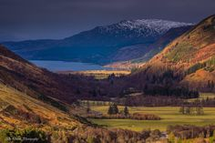 Loch Broom landscape in the Northern Highlands, near Ullapool