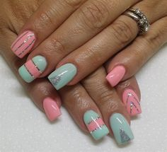Day 41: Pretty in Pink Nail Art - - NAILS Magazine