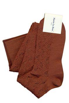 Mappe Over the knee socks, color honey. 35% wool merino 30% acrylic 35% poly