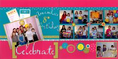Amanda's 8th Birthday - Scrapbook.com