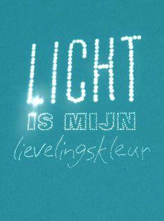 Licht is mijn lievelingskleur Happy page vtwonen maart 2013 citaat: schrijver Karlheinz Deschner (1924)