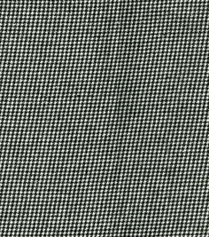 Sew Classics Suiting Fabric Houndstooth Black/WhiteSew Classics Suiting Fabric Houndstooth Black/White,