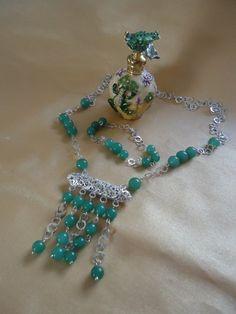 "14 mm beau Bleu Aigue-marine coin Beads Gemstone Collier Long 35/"" AAA"