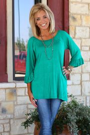 One Faith Boutique is a women's trendy clothing boutique specializing in clothes for women of all shapes and sizes, including Curvy Styles (Size One Faith Boutique, Fade Styles, Basic Tops, Profile Photo, Ruffle Sleeve, Curvy Fashion, Emerald, Scoop Neck, Hair Beauty