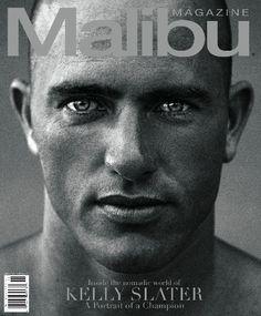 Kelly Slater Surfing Malibu Magazine <3