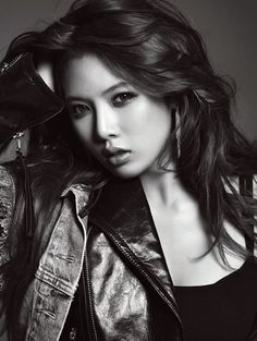 Kim Hyuna - I describe my MC more Greek looking than Asian, but this picture still makes me think of her. She's got her sass. Pretty People, Beautiful People, Beautiful Women, Asian Woman, Asian Girl, Hyuna Kim, Remy Hair Extensions, Be A Nice Human, Girl Day