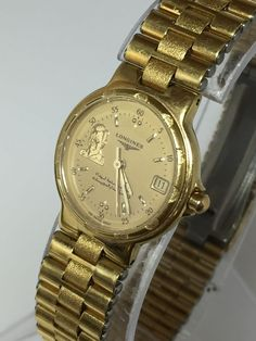 Longines Quartz L152.4 Ladies Swiss Rare Vintage Watch Saddam Hussein (N119) #Longines #LuxuryDressStyles