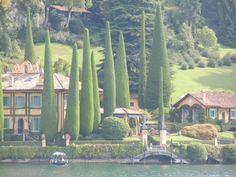 Villa del Balbianello near the town of Lenno on Lake Como. (Took this photo on the ferry from Moltrasio to Bellagio)