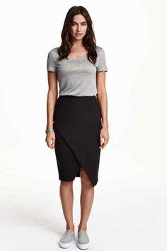 Falda cruzada | H&M