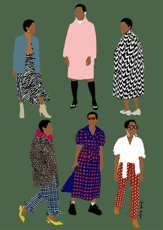 Graphic - Janelle Burger York Restaurants, Momofuku, Freelance Illustrator, Ready To Wear, How To Wear, Fashion, Haute Couture, Moda, Fashion Styles