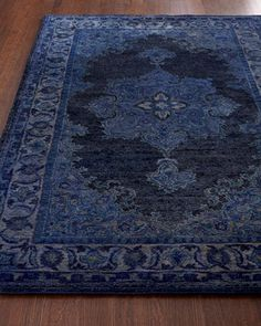 Blue Mist Rug at Horchow.