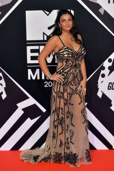 MTV EMA's 2015 Celebrity Hairstyles | Elettra Lamborghini