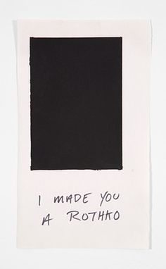 I made you a Rothko - Emmy Bright