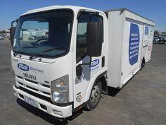 Isuzu, NLR200, 4 x 2, Service Body