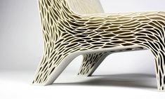 Biomimicry is 3D-printed chair inspired by plant cell structure