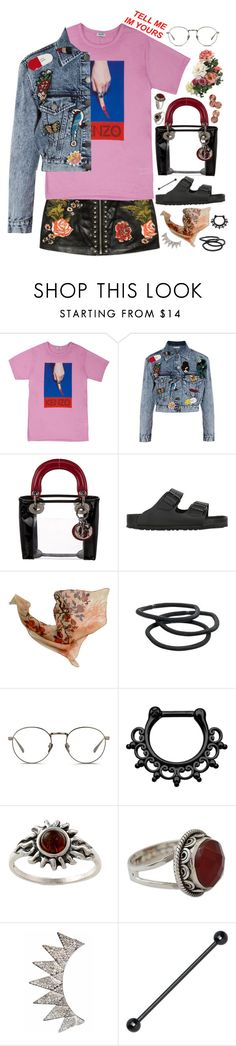 """♥I'm a puppet on your string♥"" by katherinethecat ❤ liked on Polyvore featuring Alice + Olivia, Christian Dior, Birkenstock, Goody, Linda Farrow, Amber Sun, NOVICA, ootd and simpleset"
