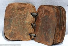 First century book found in Jordan, thought to pertain to the resurrection.